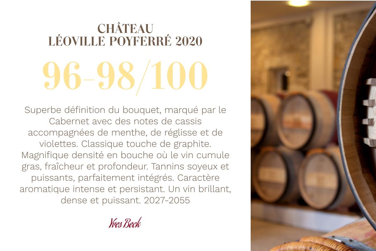 2020 vintage : a promise kept - Léoville Poyferré